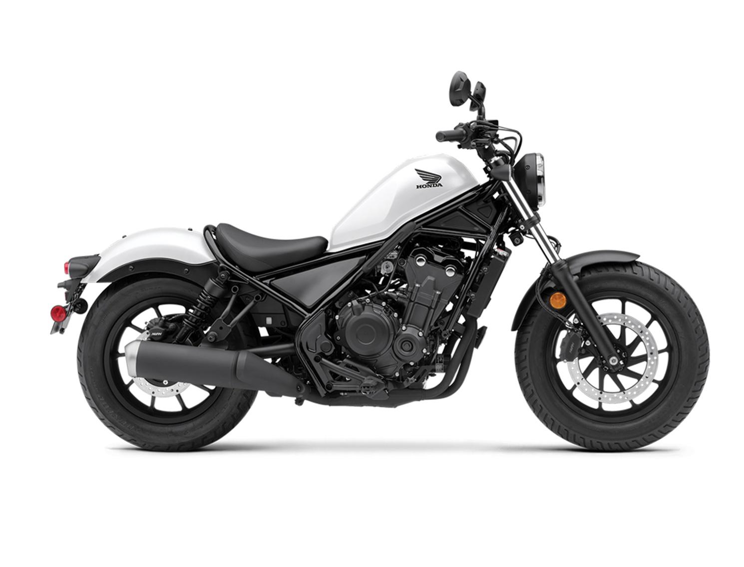 Honda Rebel 500  Blanc Sommet Perlé Mat 2021