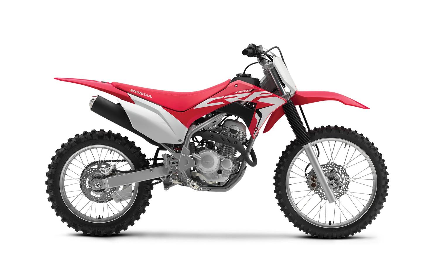 2021 Honda CRF250F Extreme Red