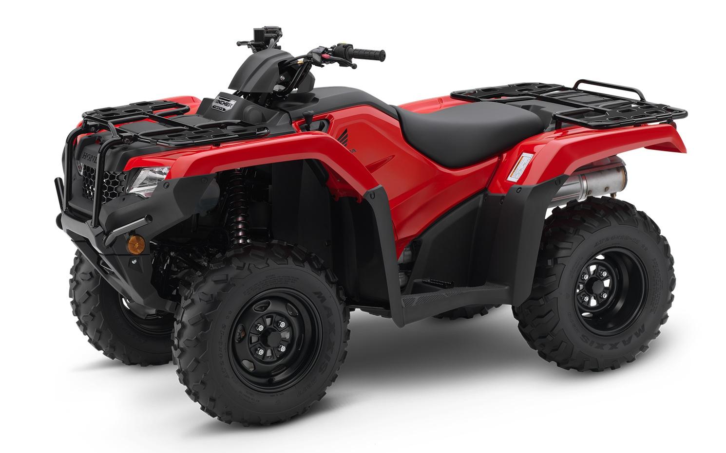 Honda TRX420  Rouge Patriote 2021
