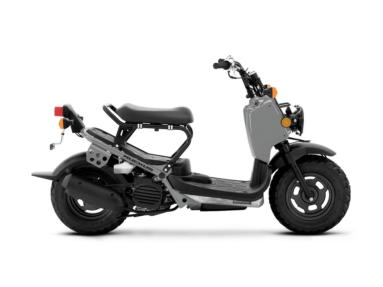 Honda Ruckus Gris 2022