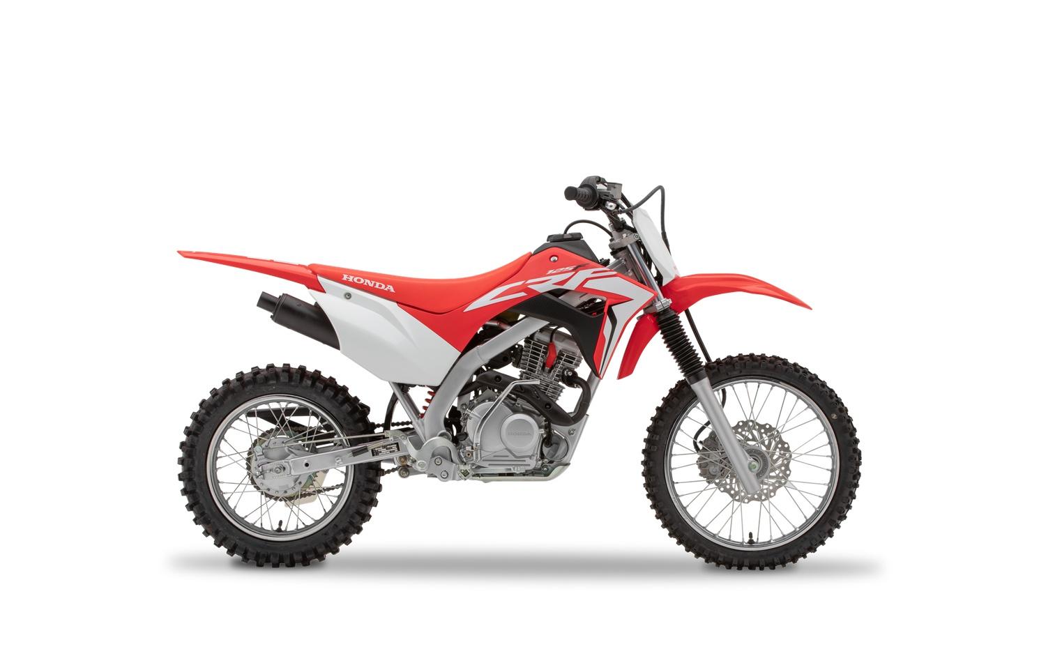 2021 Honda CRF125F Extreme Red
