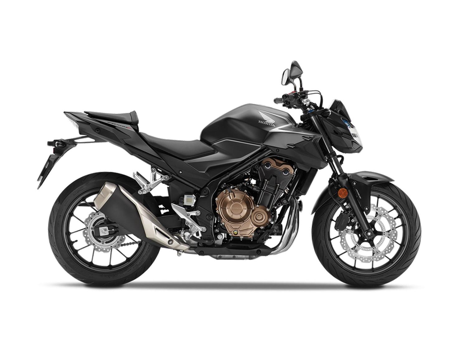 Honda CB500F  Noir Mat 2021