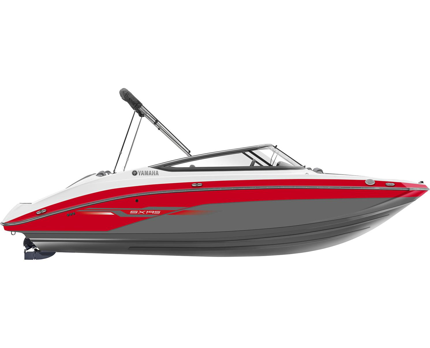 Yamaha SX195 Suede Grey With Red