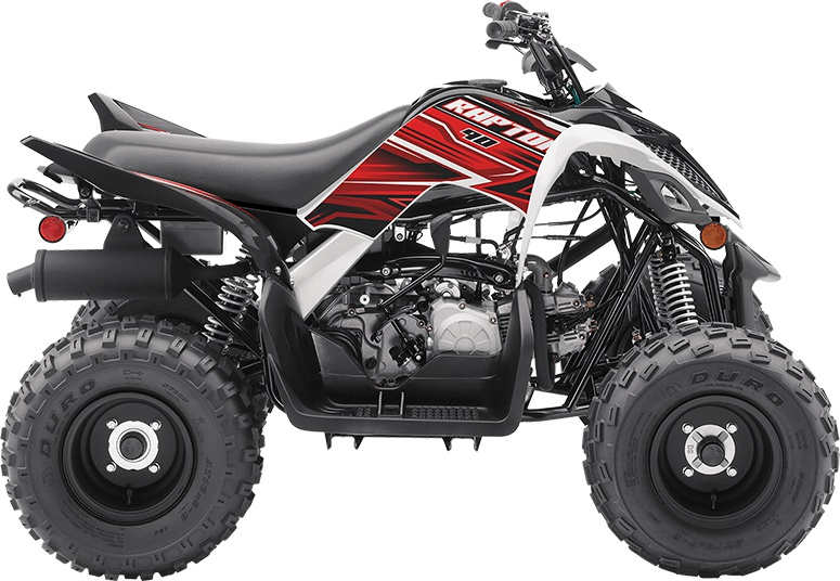 Yamaha Raptor 92 Noir/Blanc 2020