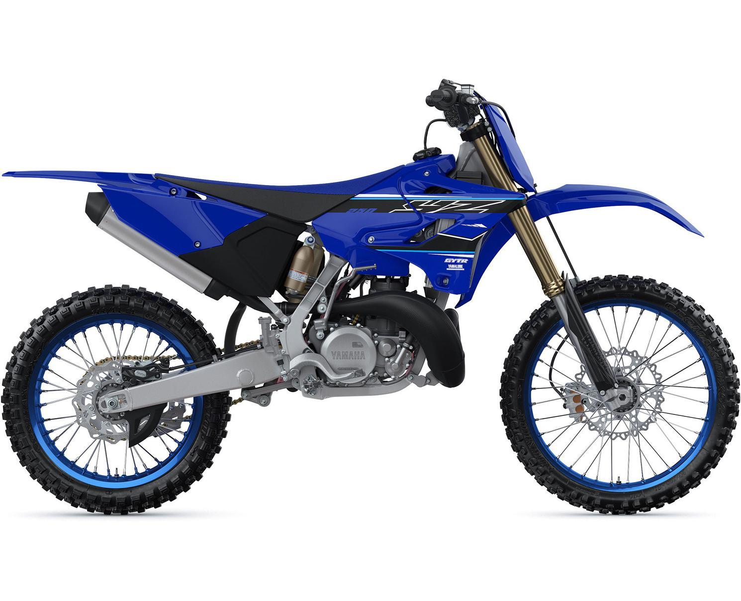Yamaha YZ250 Bleu Yamaha De Compétition 2021