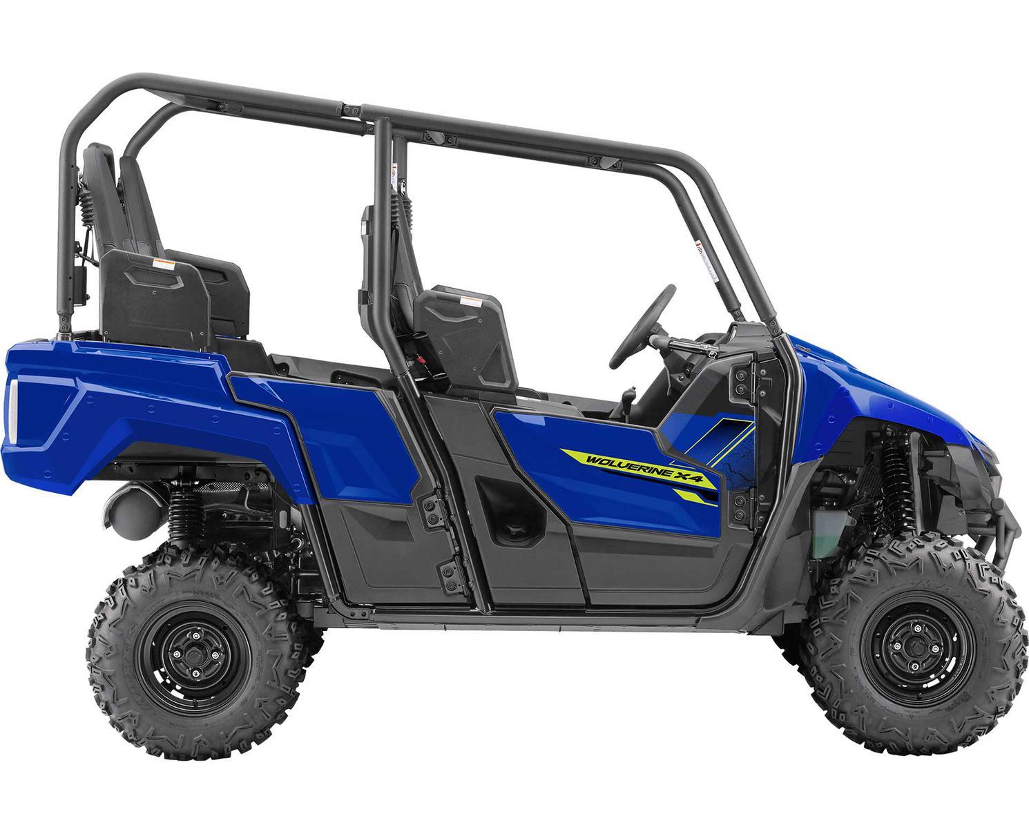 Yamaha Wolverine X4 DAE Bleu 2020