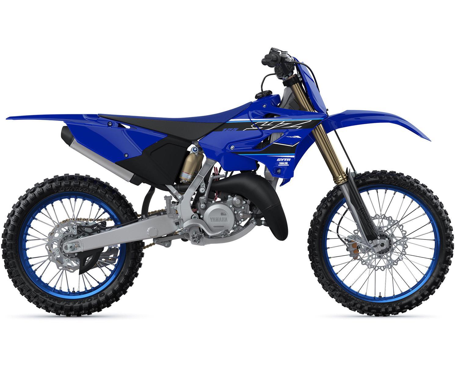 Yamaha YZ125 Bleu Yamaha De Compétition 2021