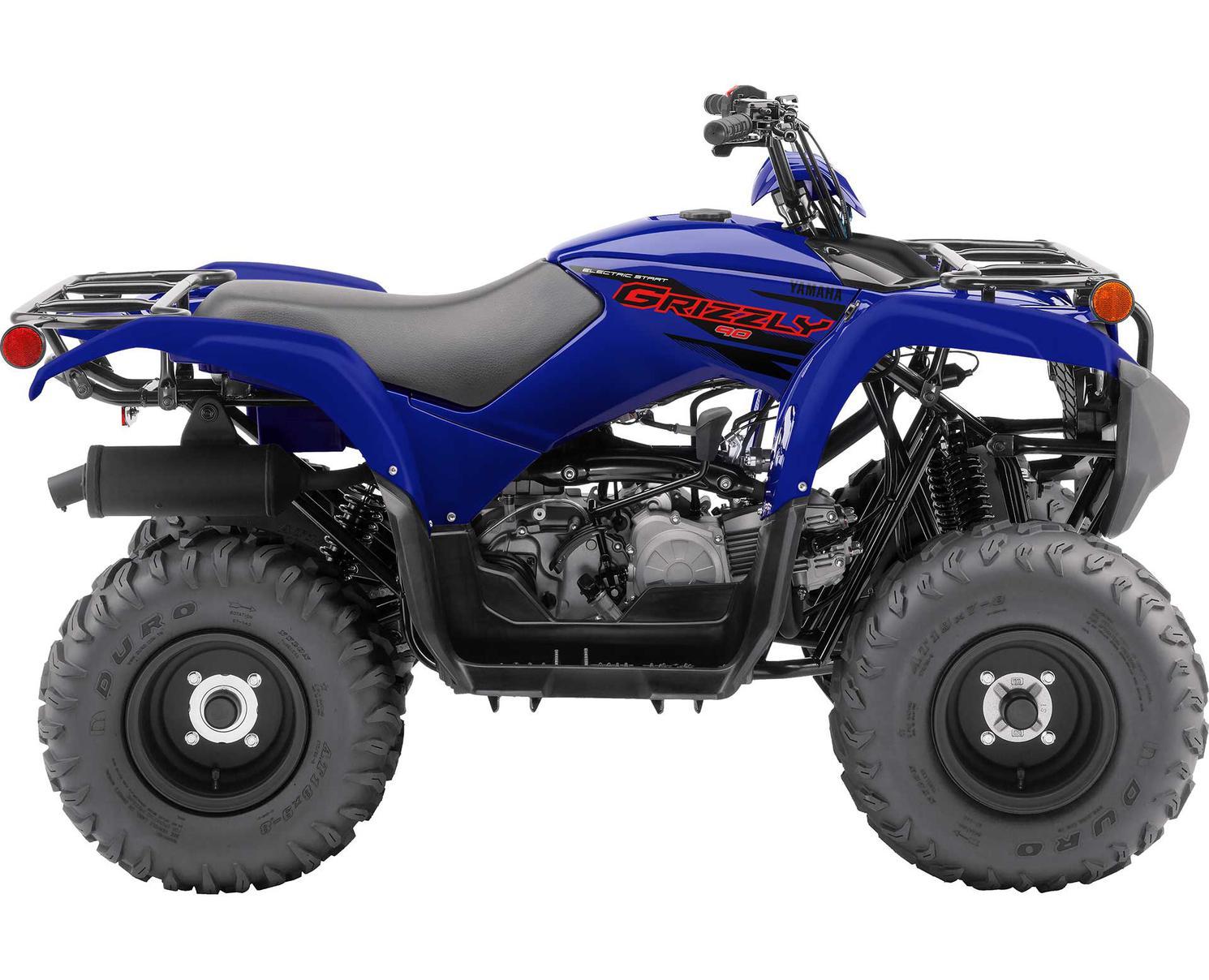 Yamaha Grizzly 90 Bleu Yamaha De Compétition 2021