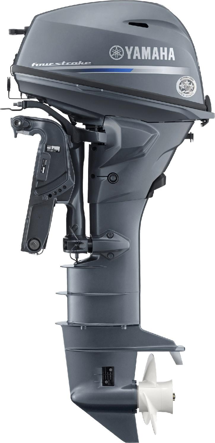 Yamaha T25C High Thrust Bluish Gray Metallic