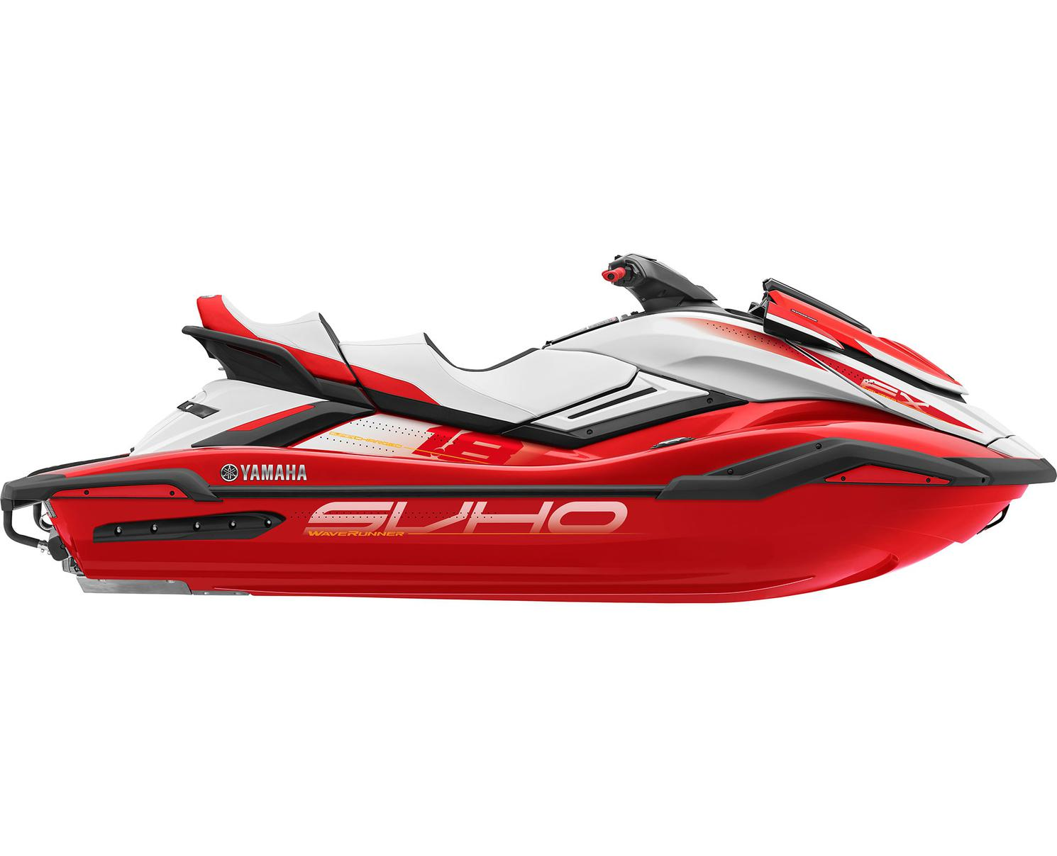 2021 Yamaha FX CRUISER SVHO Torch Red/White