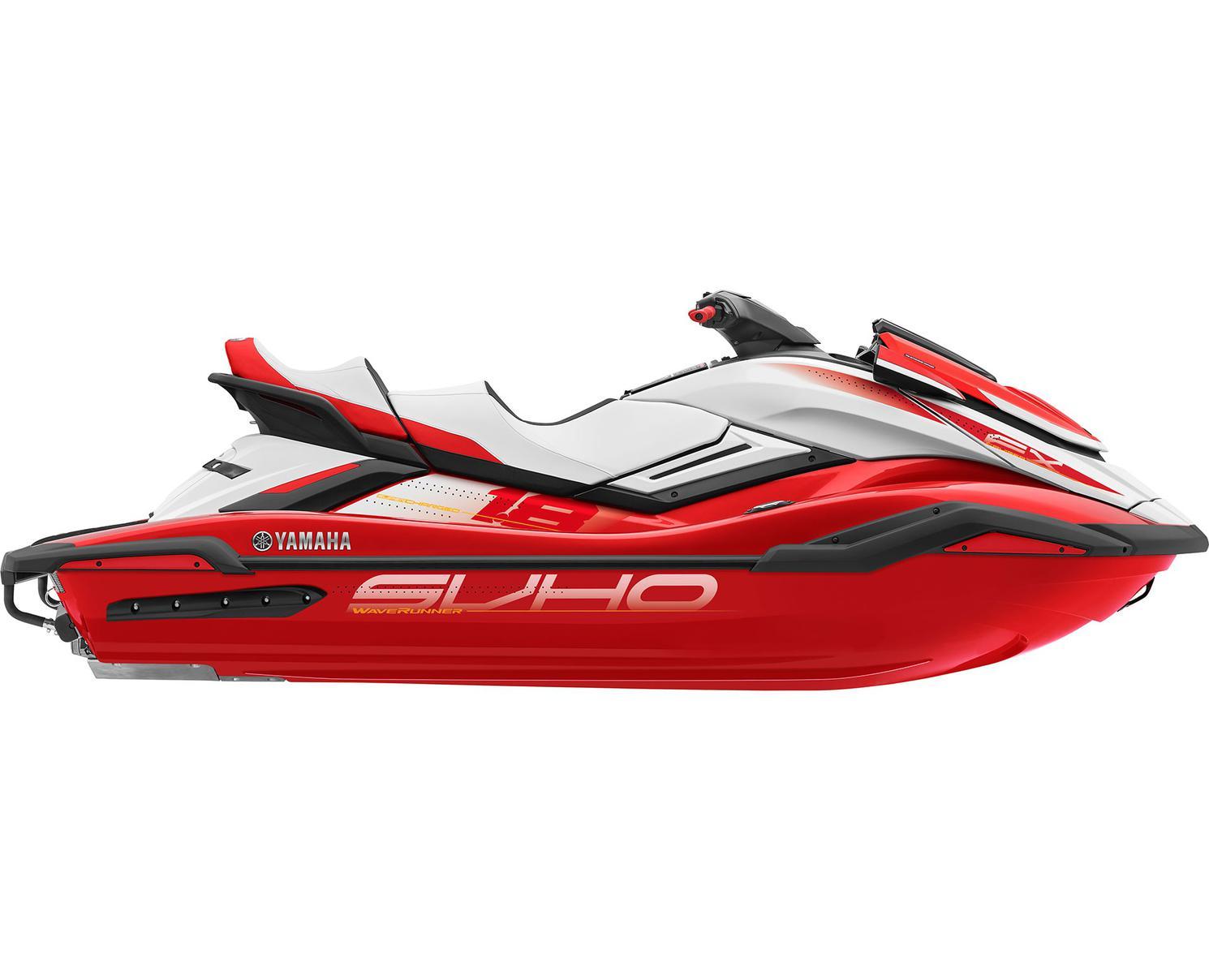 Yamaha FX CRUISER SVHO Rouge Flamme/Blanc 2021