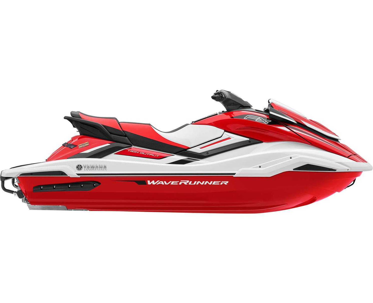 Yamaha FX HO Blanc/Rouge Flamme 2021
