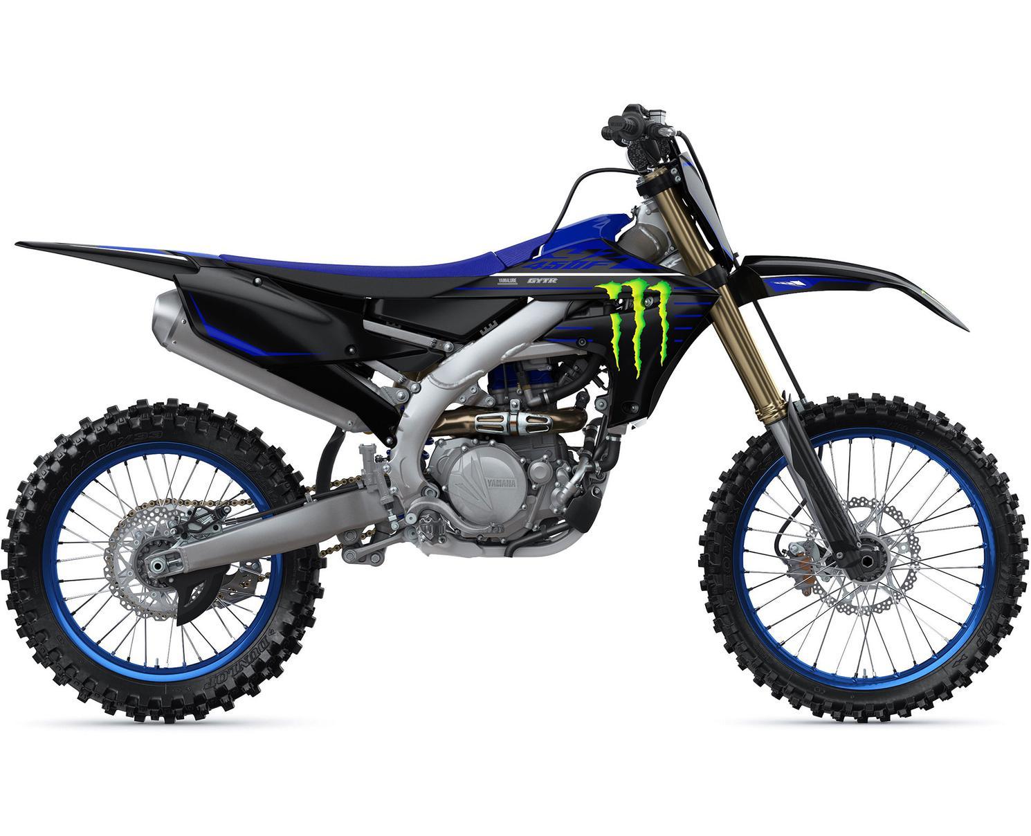 2021 Yamaha YZ450F Monster Energy Yamaha Racing Edition