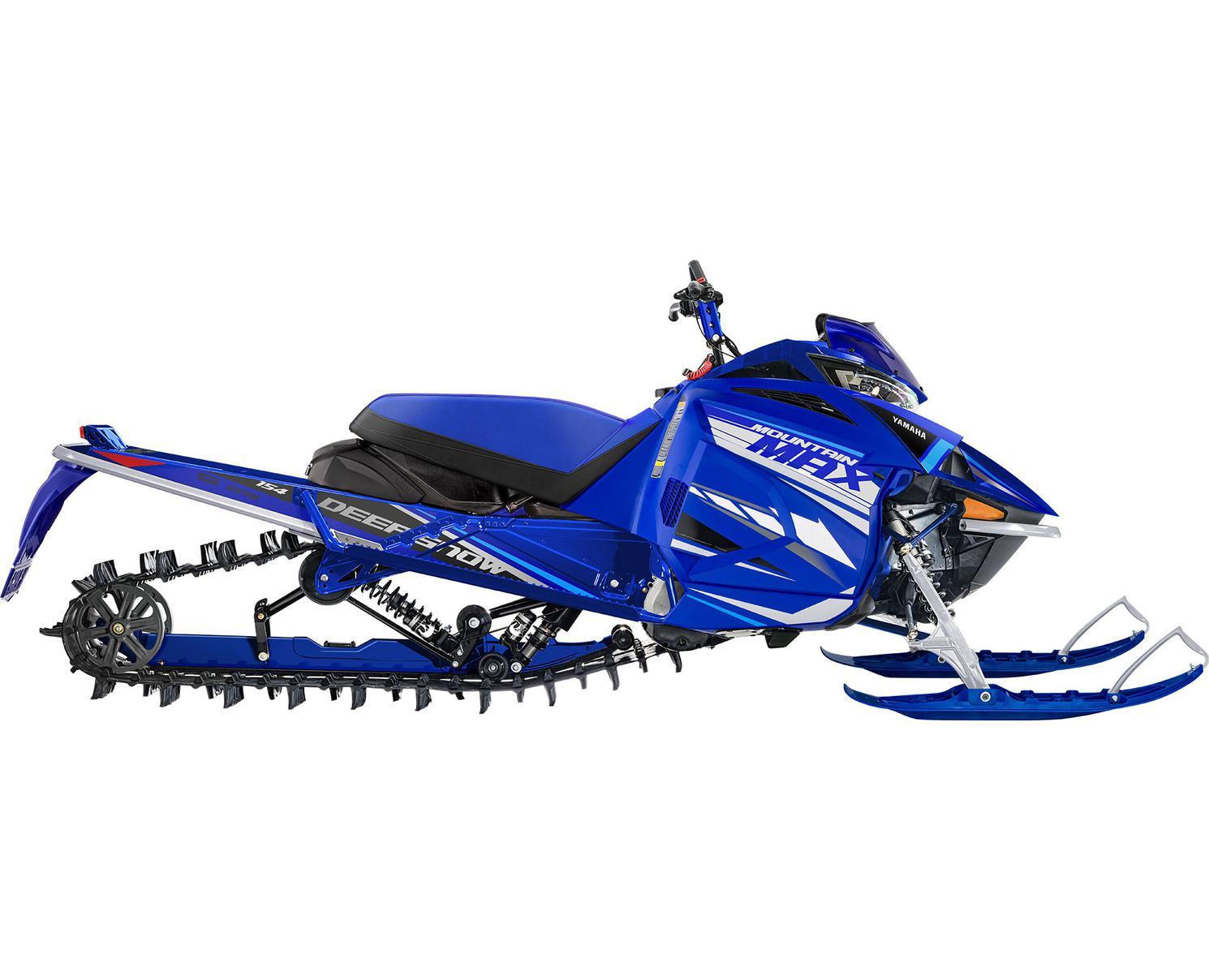 Yamaha Mountain Max LE 154 Bleu Yamaha De Compétition 2021