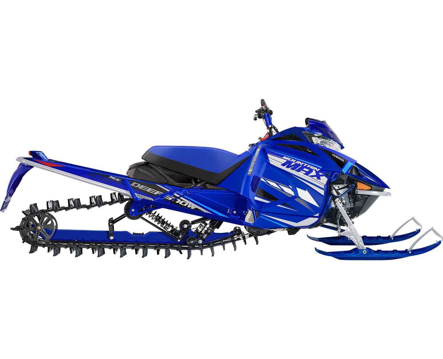 Yamaha Mountain Max LE 165 Bleu Yamaha De Compétition 2021
