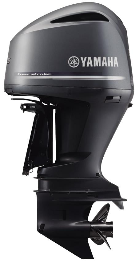Yamaha F225A Bluish Gray Metallic