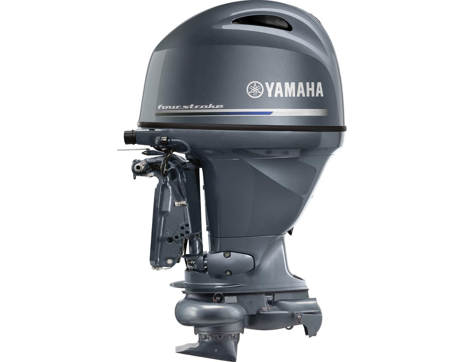 Yamaha F90 Jet Drive Bluish Gray Metallic