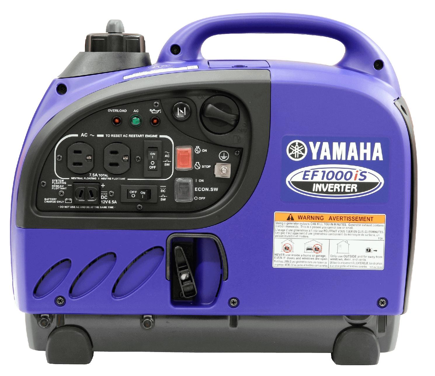 Yamaha Génératrices à inverseur EF1000IS