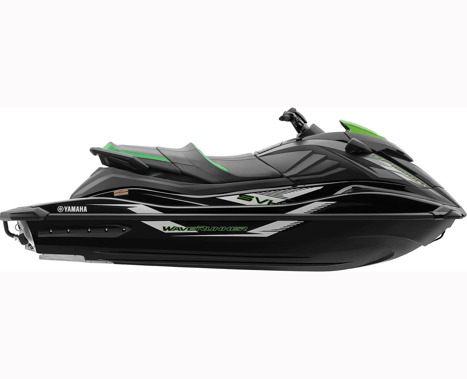 Yamaha GP1800R SVHO Noir/Vert Citron 2021
