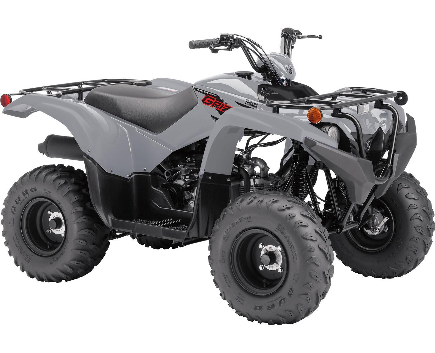 Yamaha Grizzly 90 Gris Blindé 2021