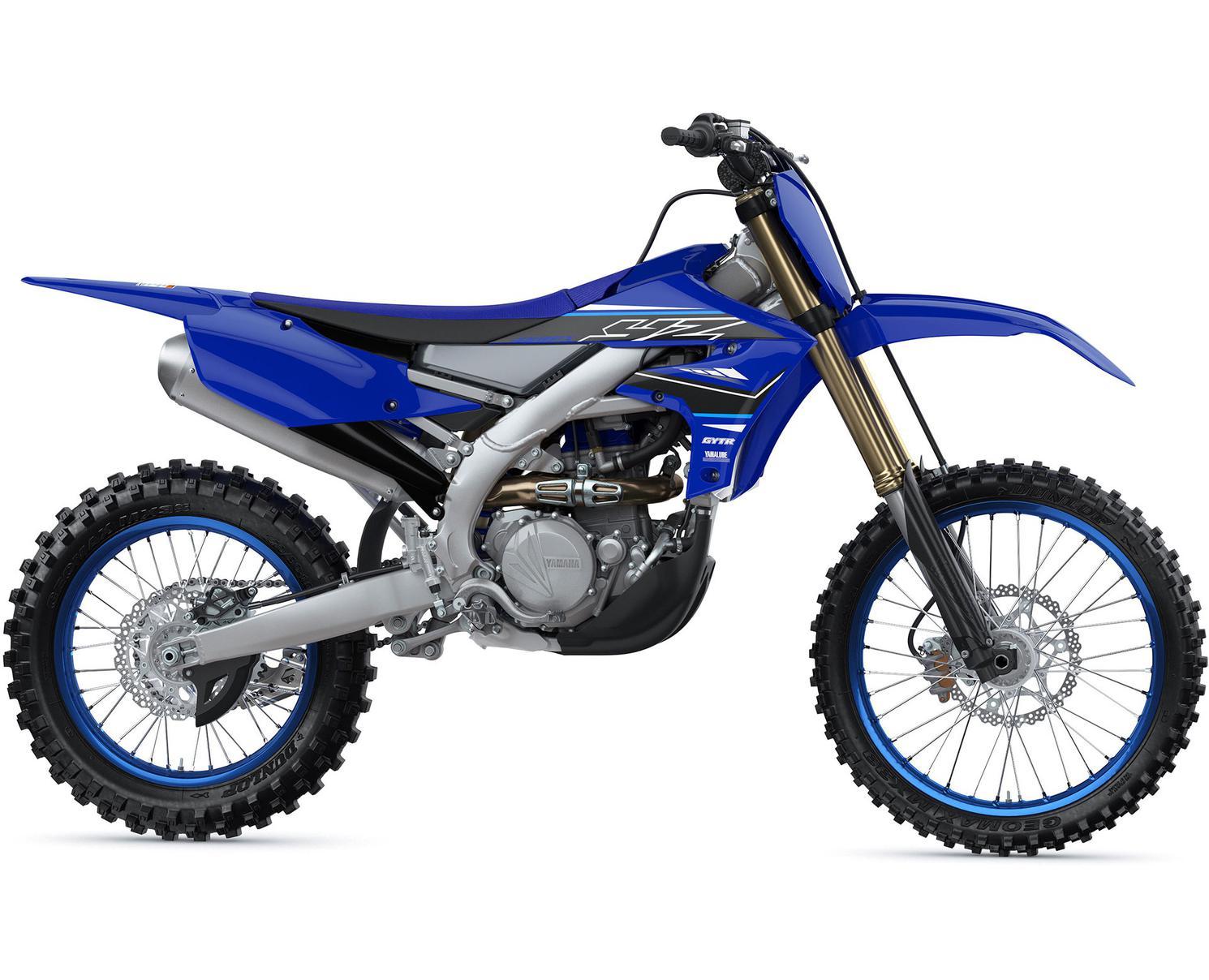 Yamaha YZ450FX Bleu Yamaha De Compétition 2021
