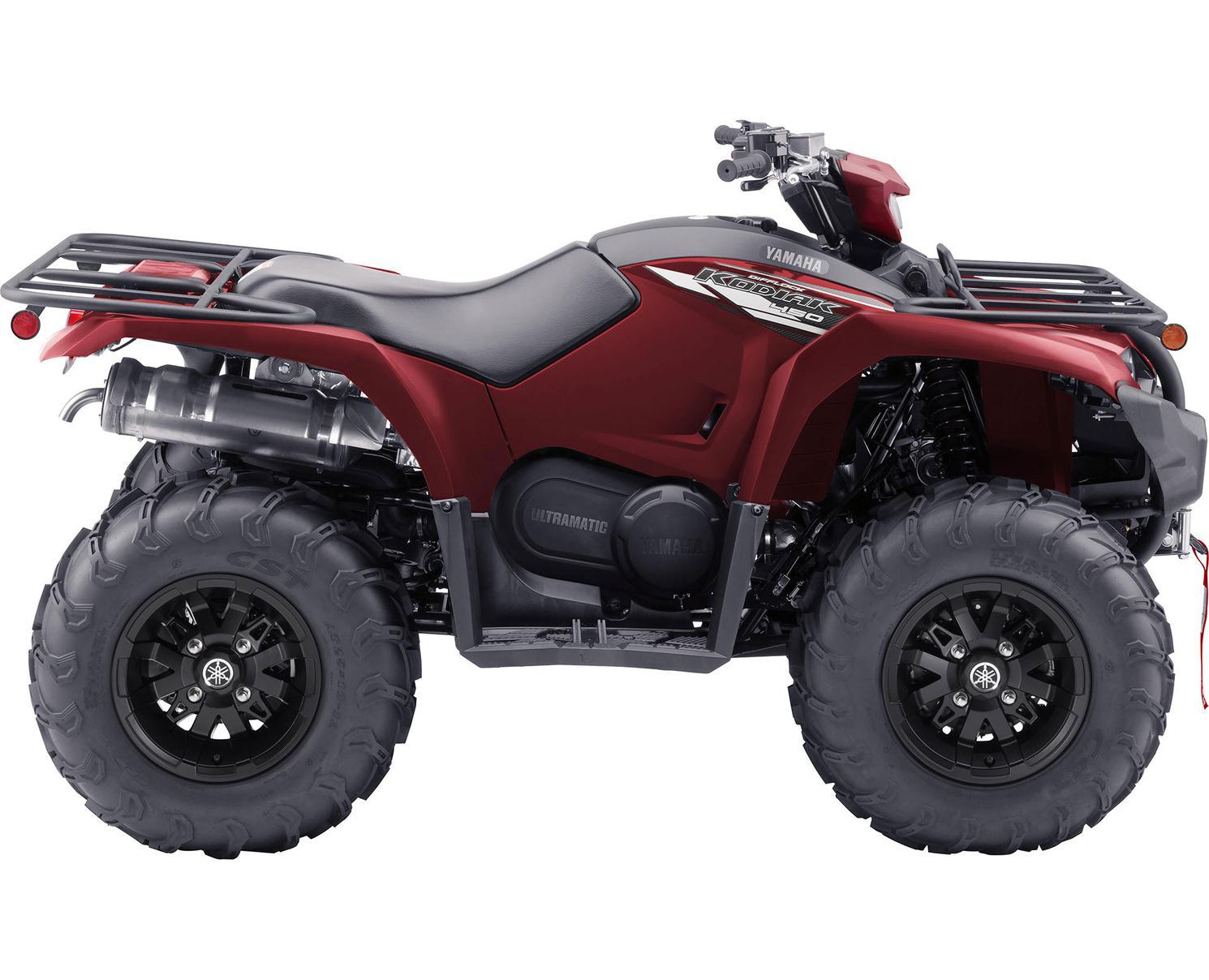 Yamaha Kodiak 450 EPS SE Rouge Crête 2021