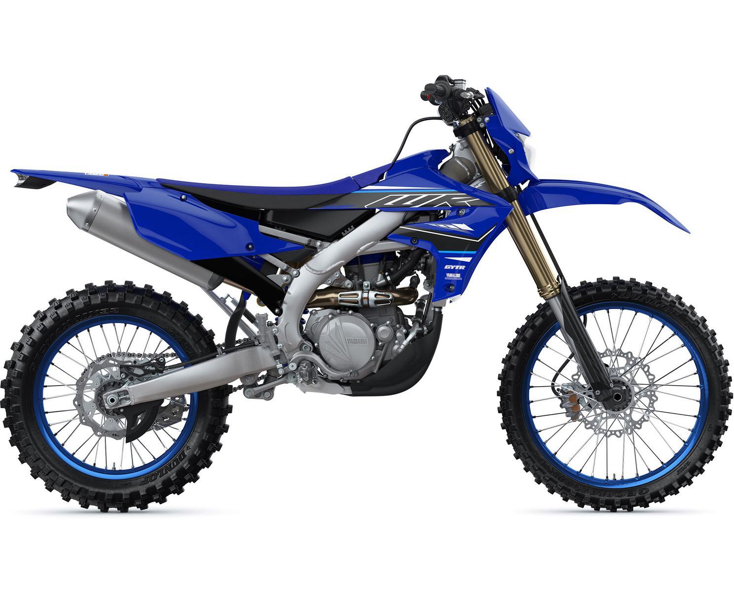 Yamaha WR450F Bleu Yamaha De Compétition 2021