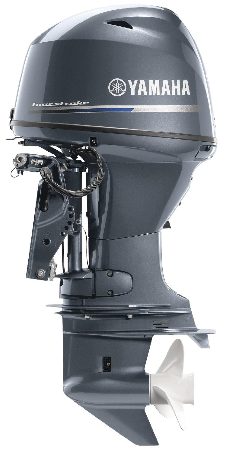 2021 Yamaha T50 High Thrust Bluish Gray Metallic