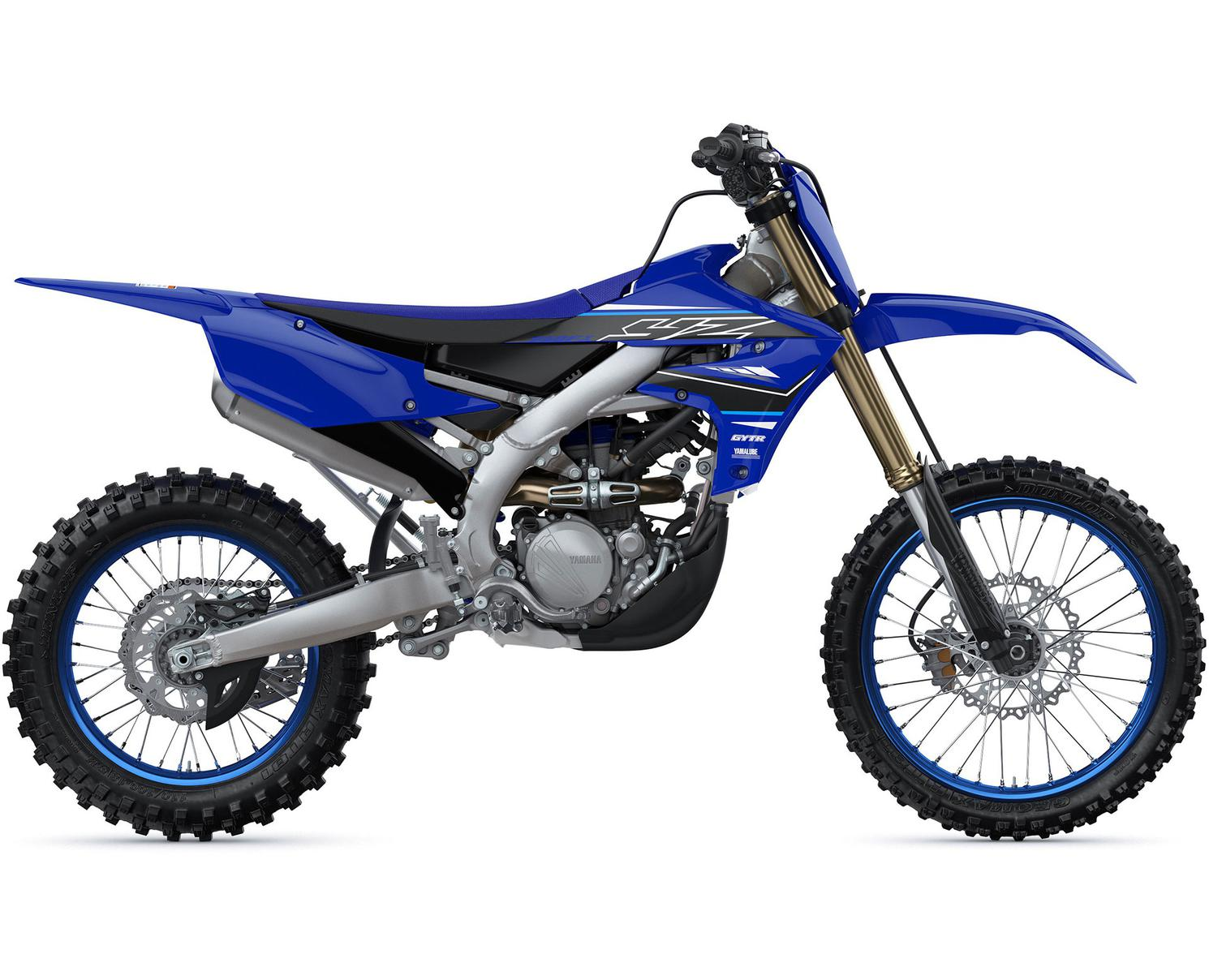Yamaha YZ250FX Bleu Yamaha De Compétition 2021
