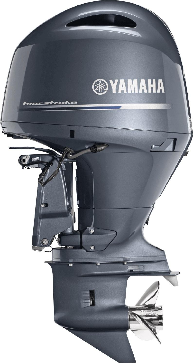 Yamaha F150 Bluish Gray Metallic