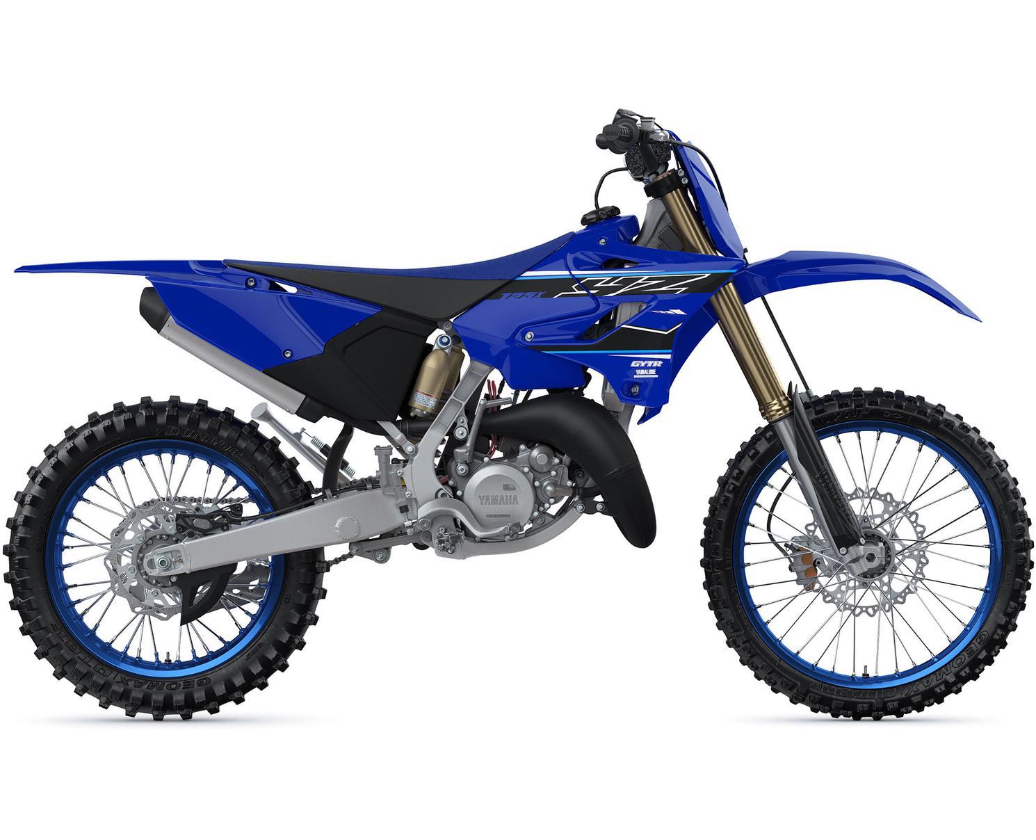 Yamaha YZ125X Bleu Yamaha De Compétition 2021