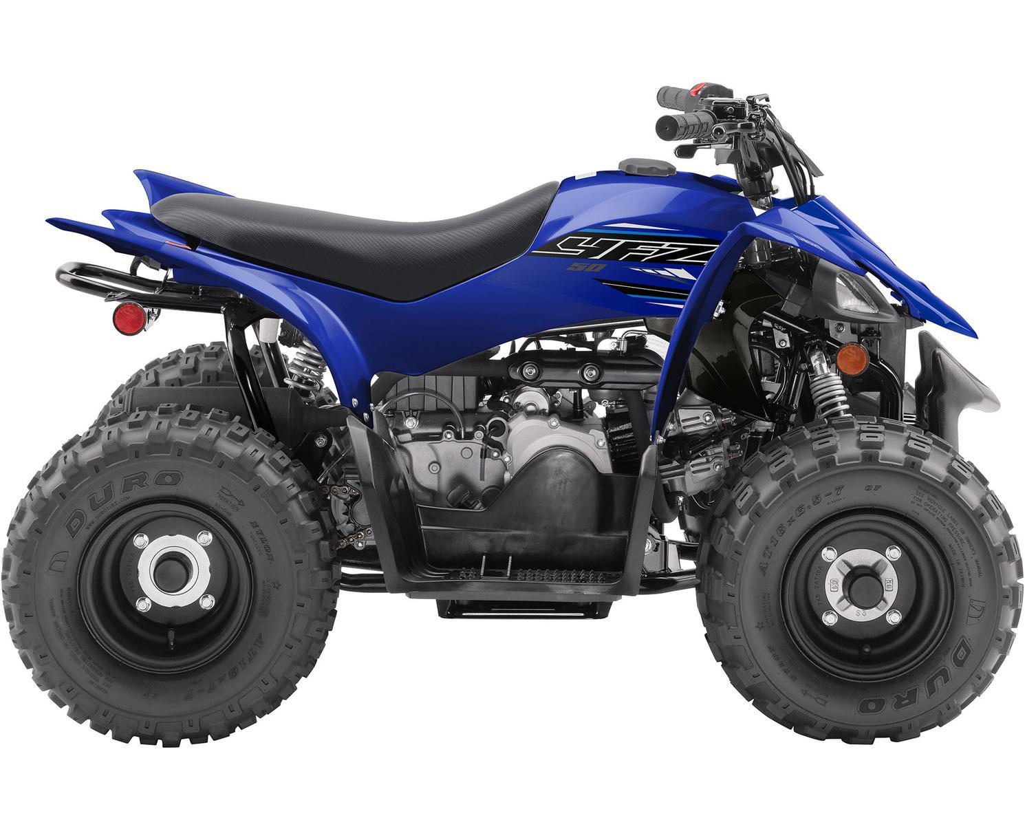 Yamaha YFZ50 Bleu Yamaha De Compétition 2021
