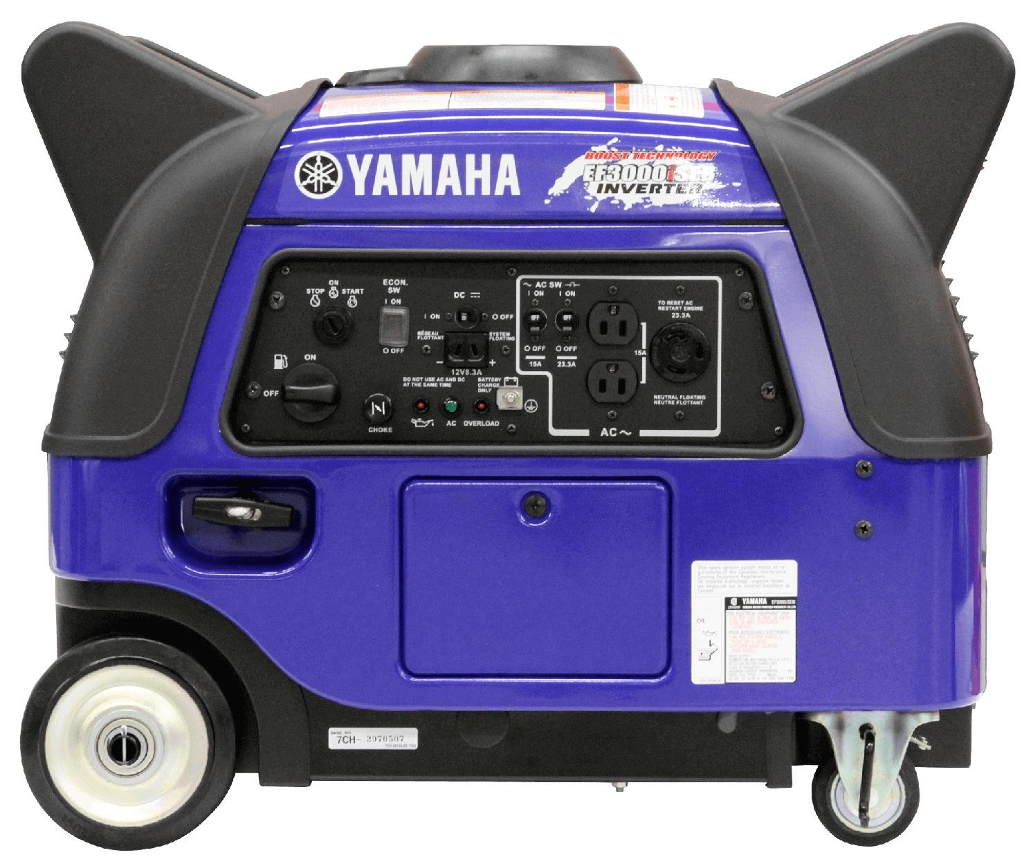 Yamaha EF3000ISEB Blue