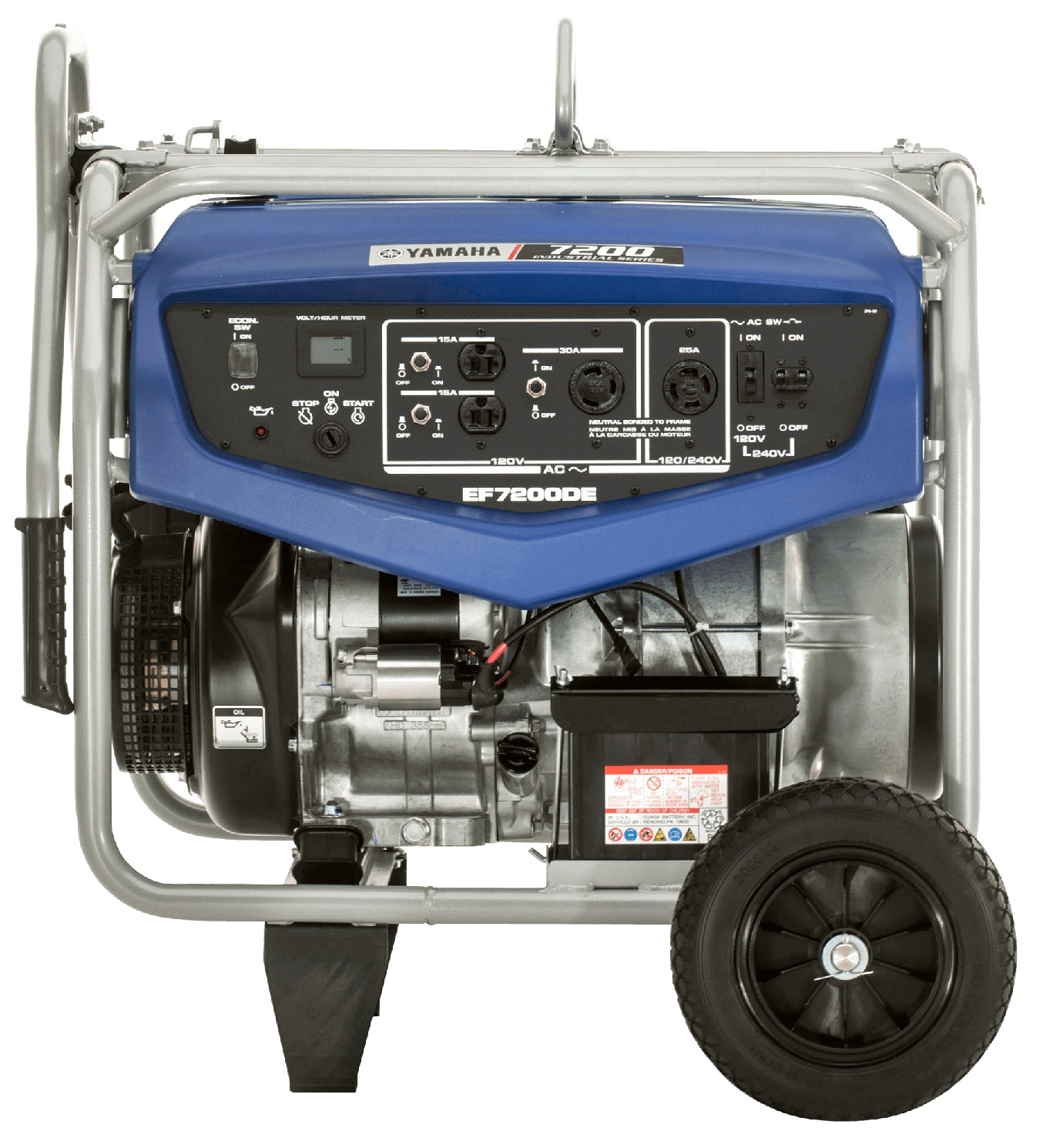 Yamaha EF7200DE Bleu