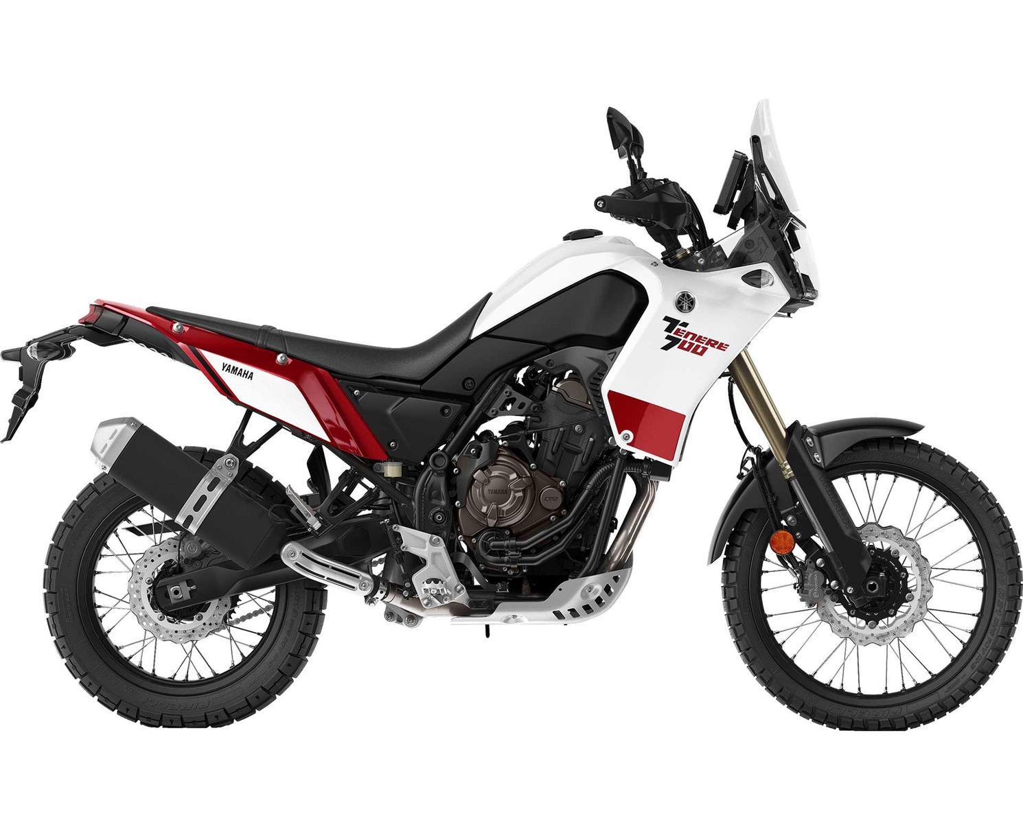 2021 Yamaha Ténéré 700 White-Tan