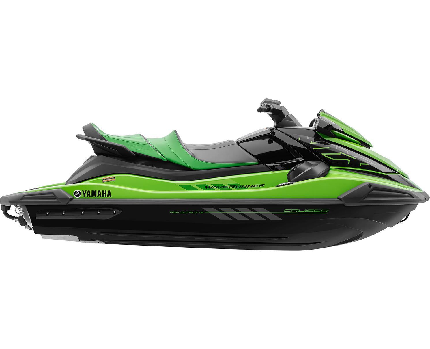 Yamaha VX CRUISER HO Vert Citron 2021