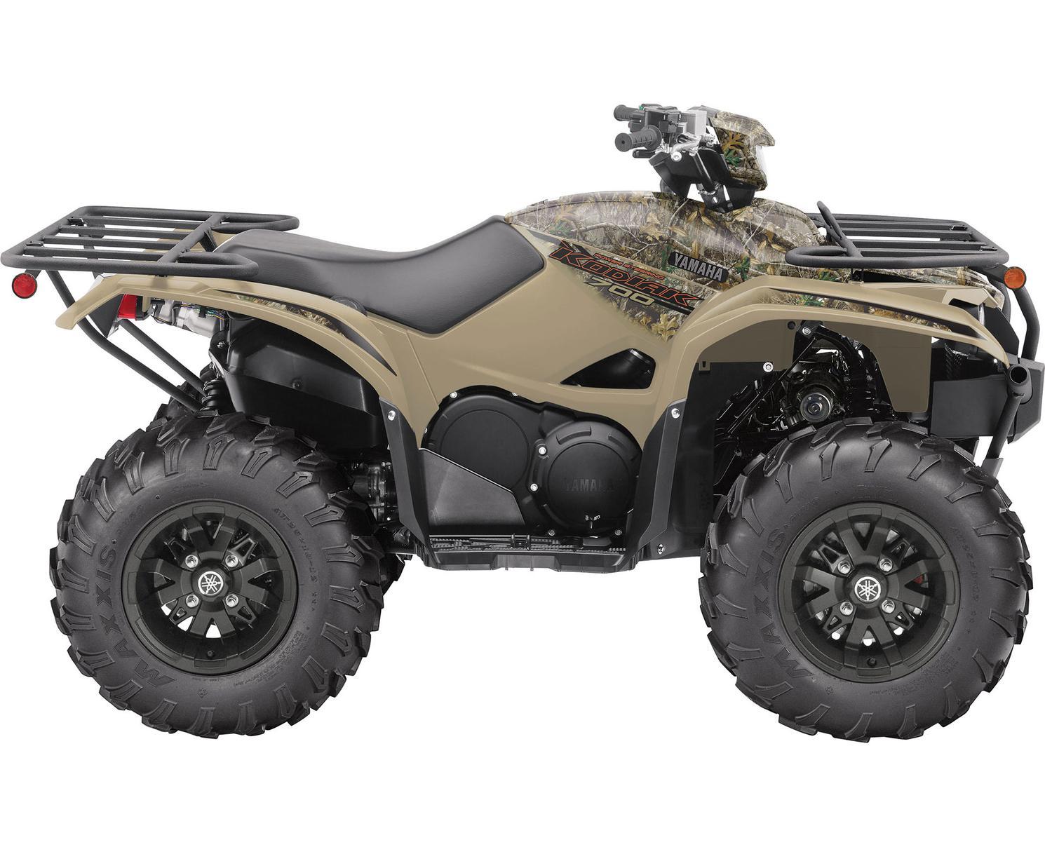 2021 Yamaha Kodiak 700 EPS Fall Beige With Realtree Edge