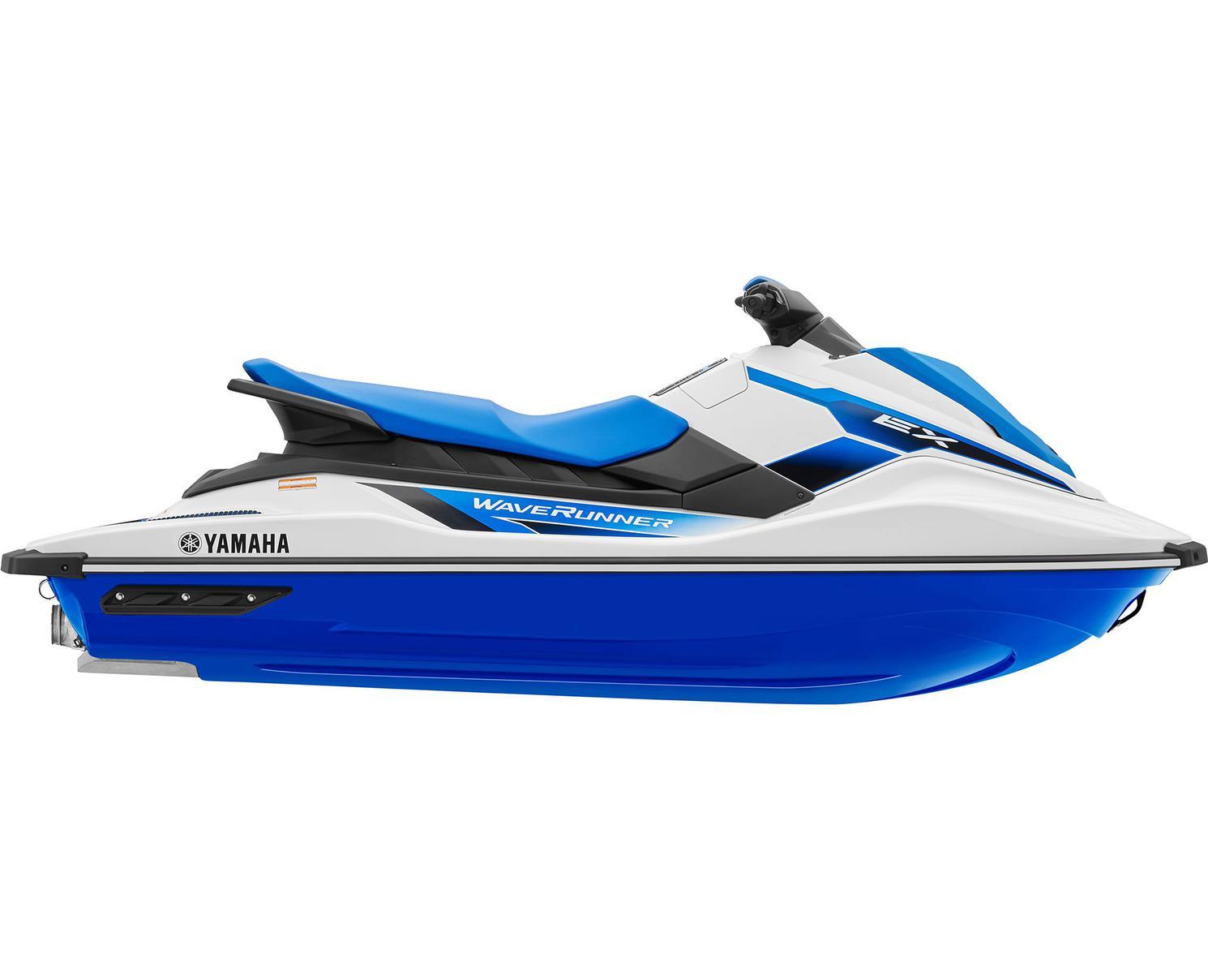 Yamaha EX Blanc/Bleu Azur 2021