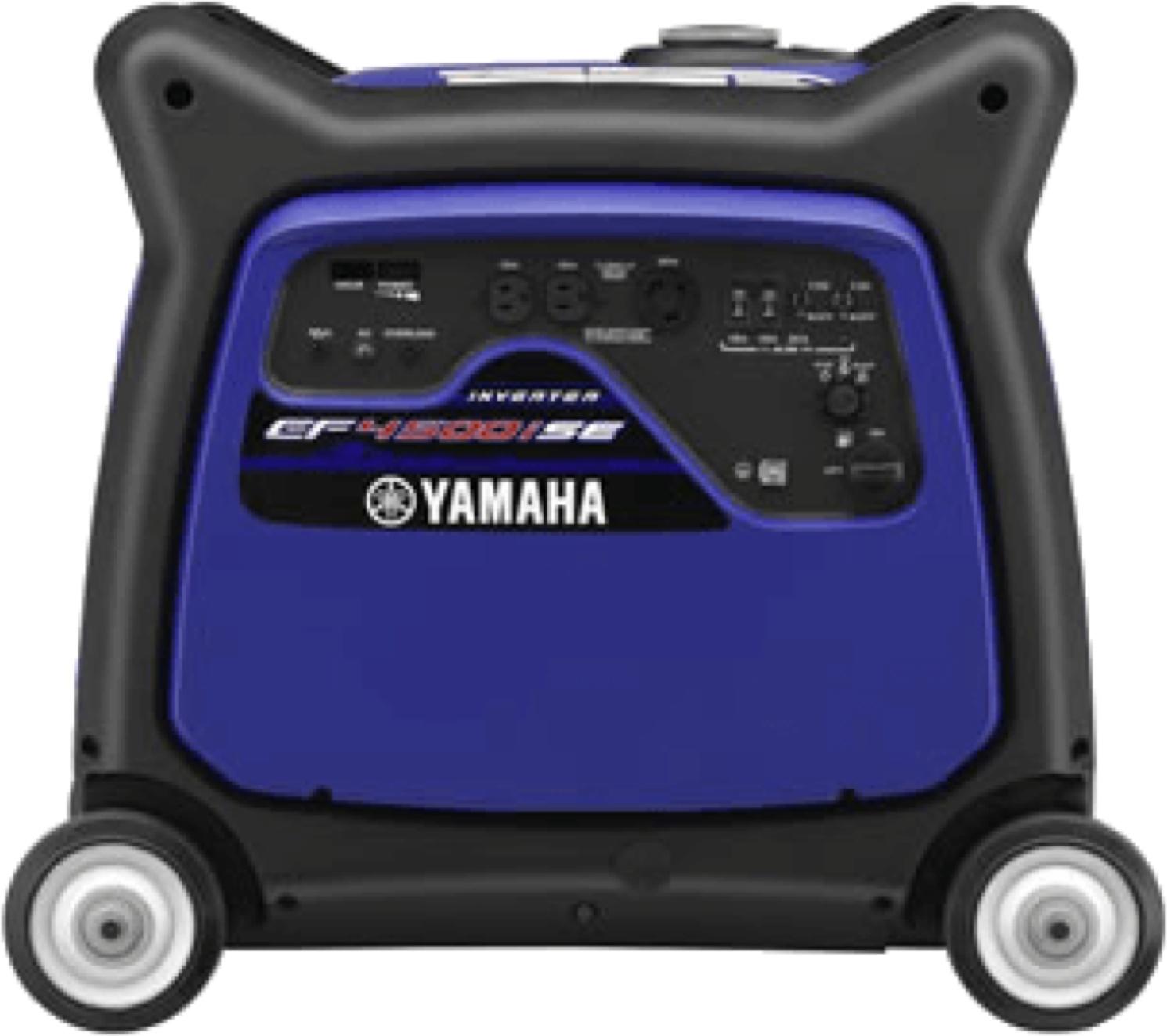 Yamaha EF4500ISE Bleu