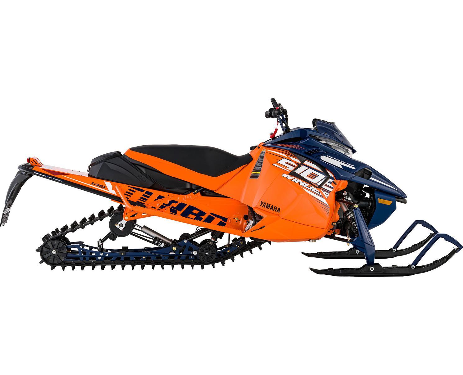 Yamaha Sidewinder X-TX LE  Bleu/Orange 2021