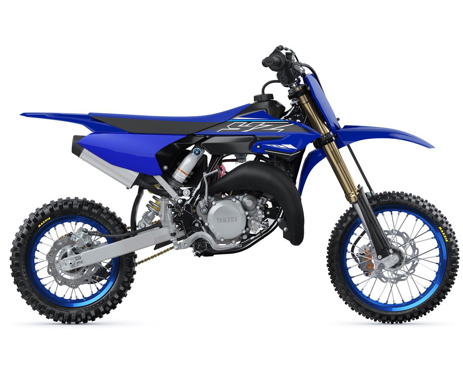 2021 Yamaha YZ65 Yamaha Racing Blue
