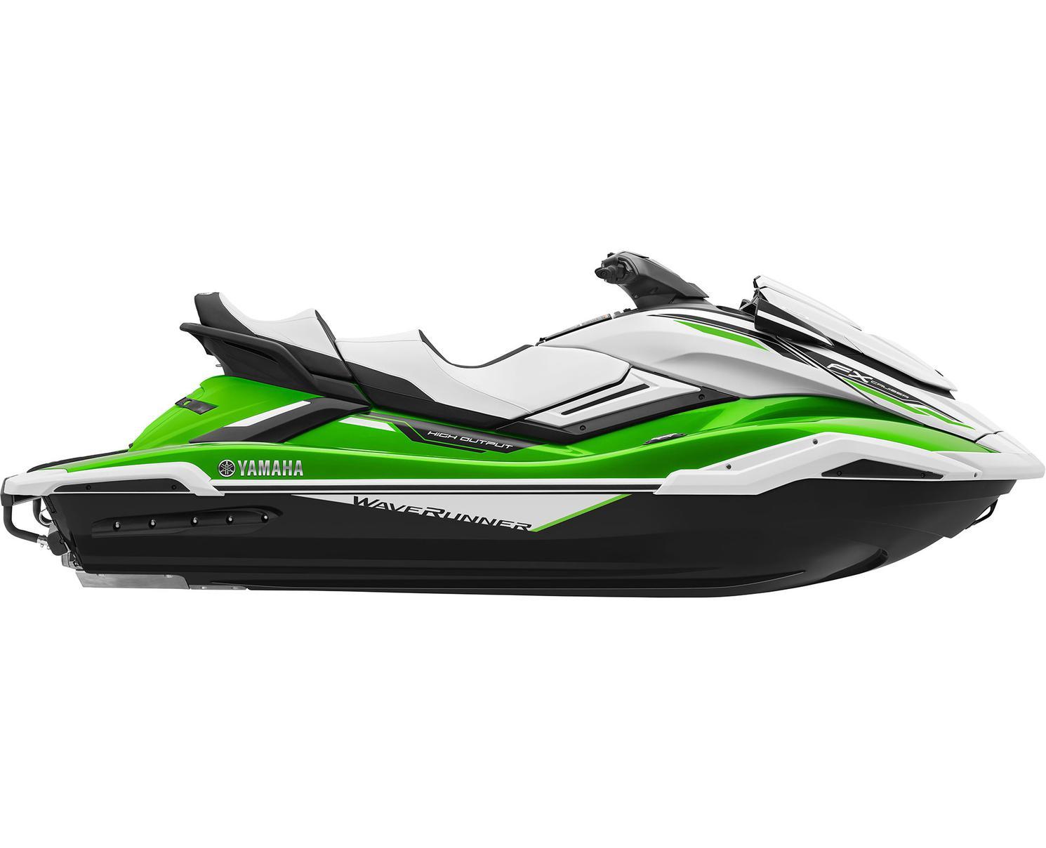 2021 Yamaha FX CRUISER HO Lime Green/White