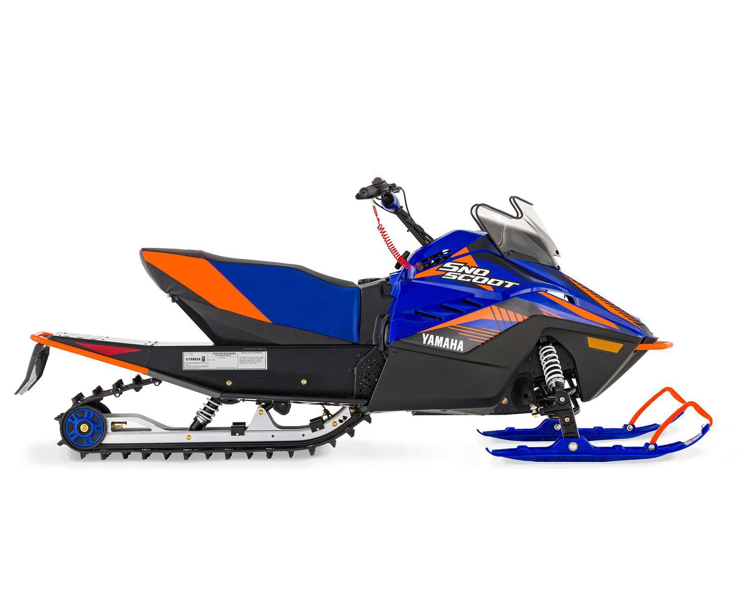 Yamaha Snoscoot ES Blue/Orange 2021