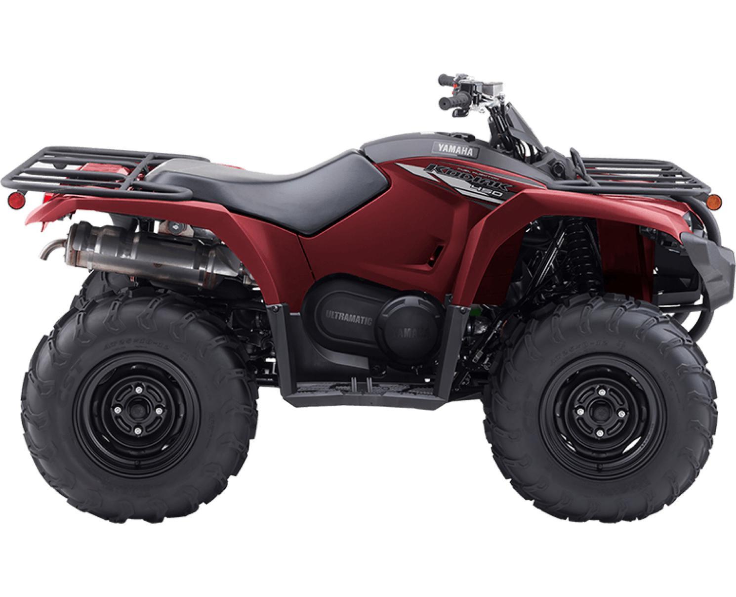 Yamaha Kodiak 450  Rouge Bourgogne 2020
