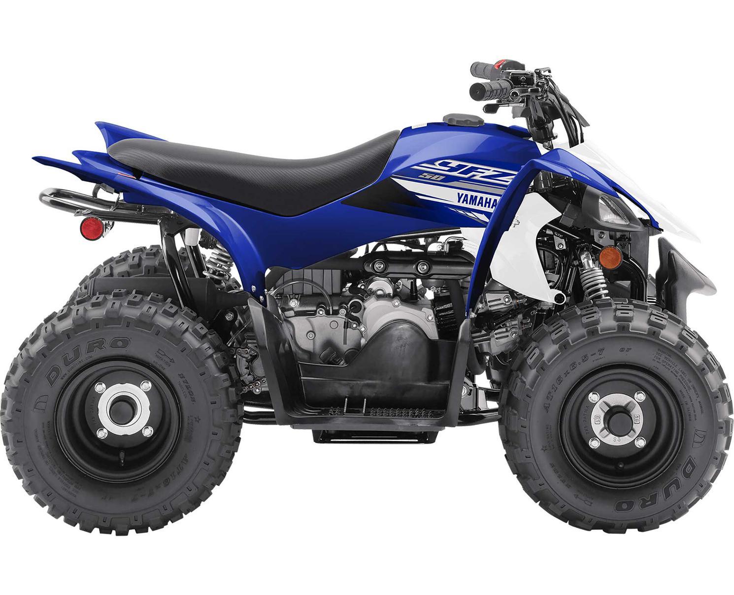 Yamaha YFZ50  Bleu De L'Écurie Yamaha 2020