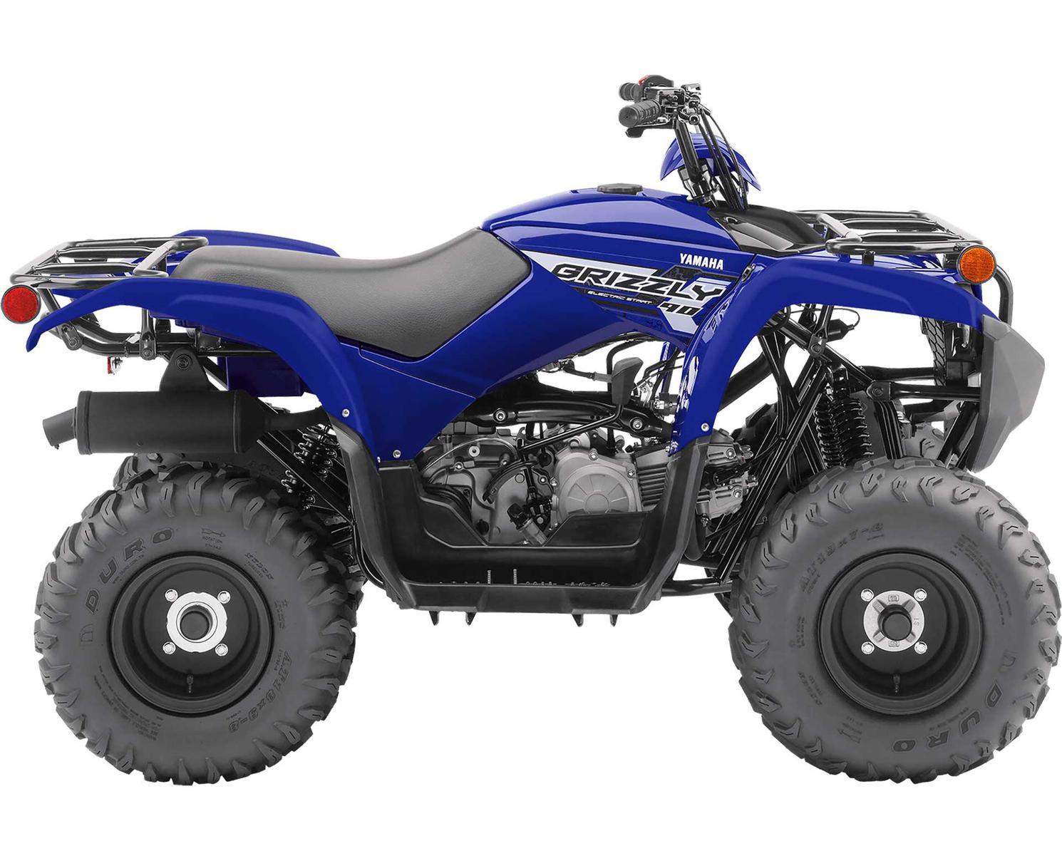 Yamaha Grizzly 90 Bleu De L'Écurie Yamaha 2020