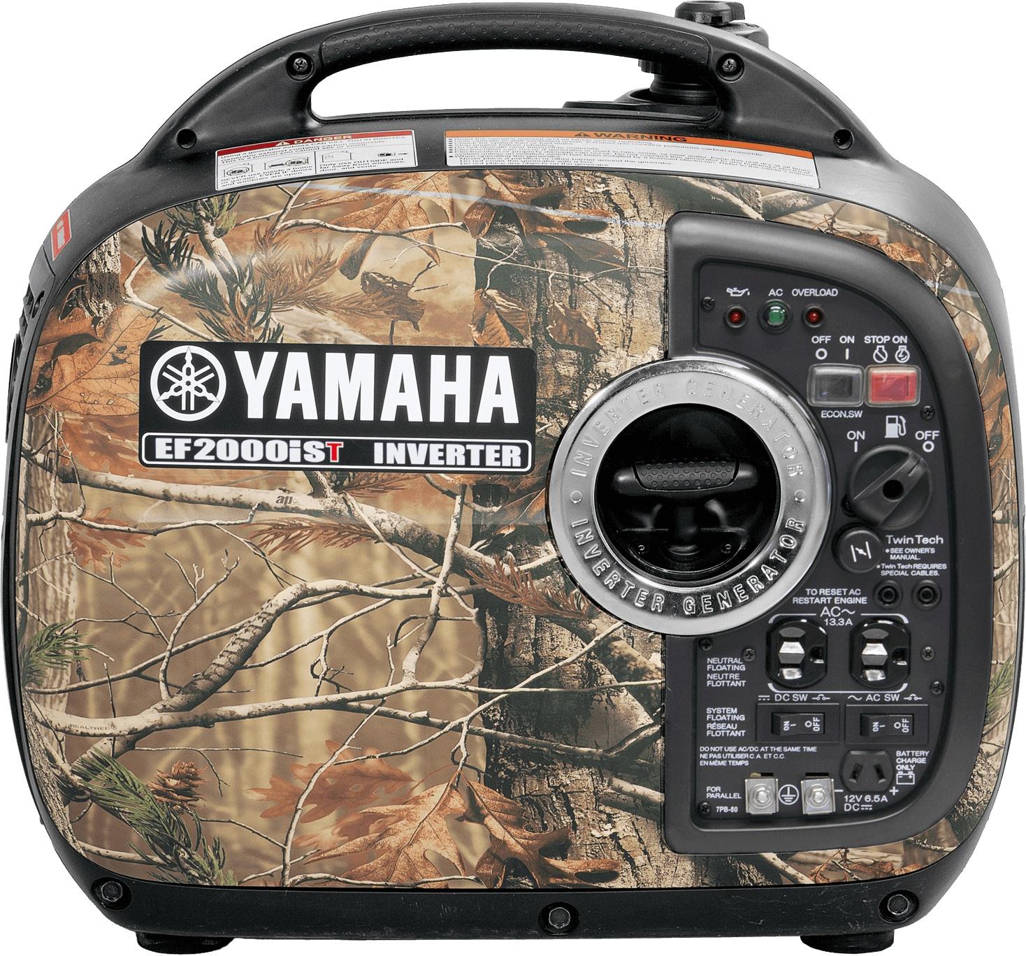 Yamaha EF2000IST Black Camo