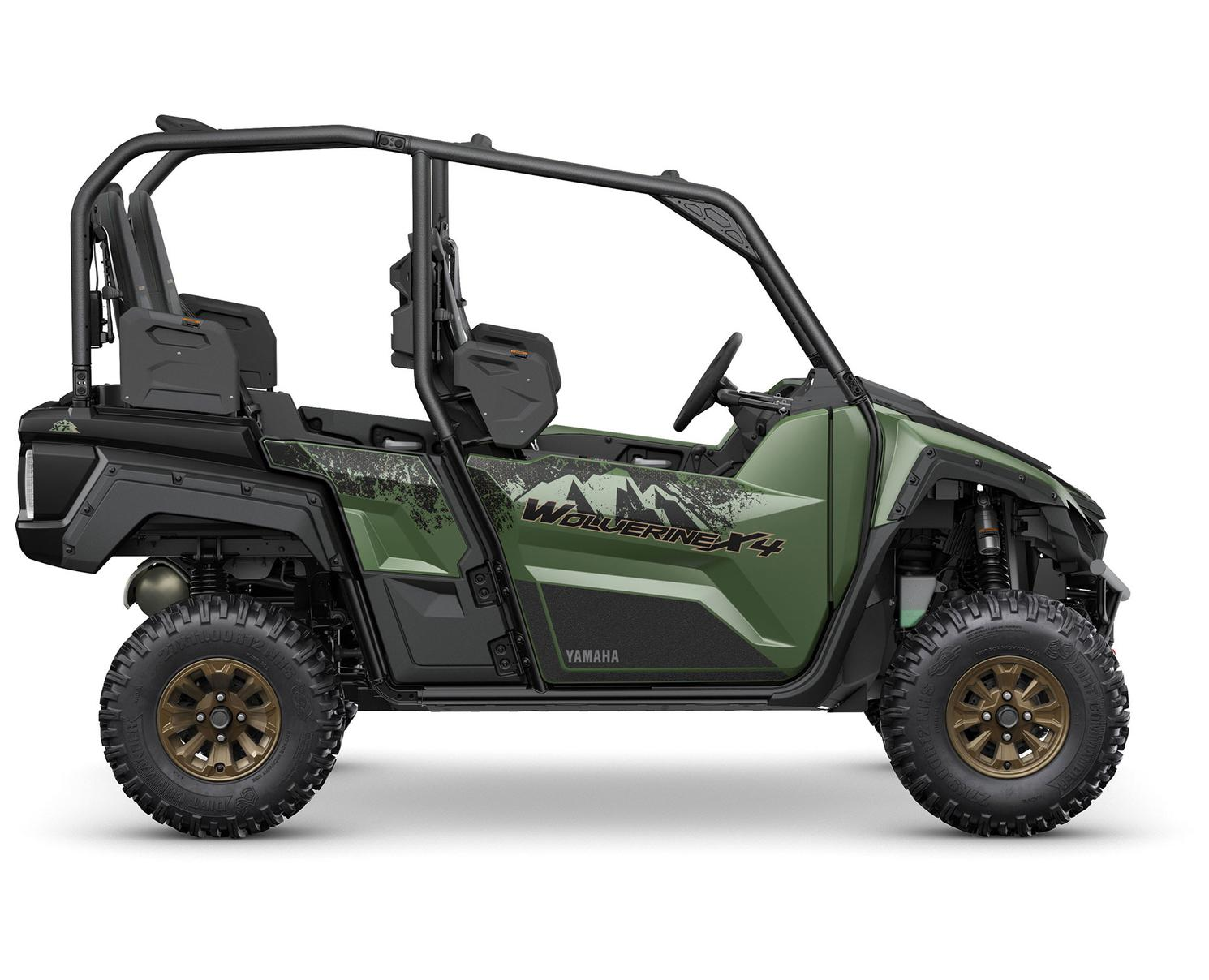 2021 Yamaha Wolverine X4 850 EPS SE Covert Green