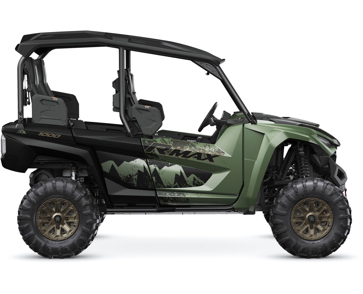 2021 Yamaha Wolverine RMAX4 1000 EPS SE Covert Green