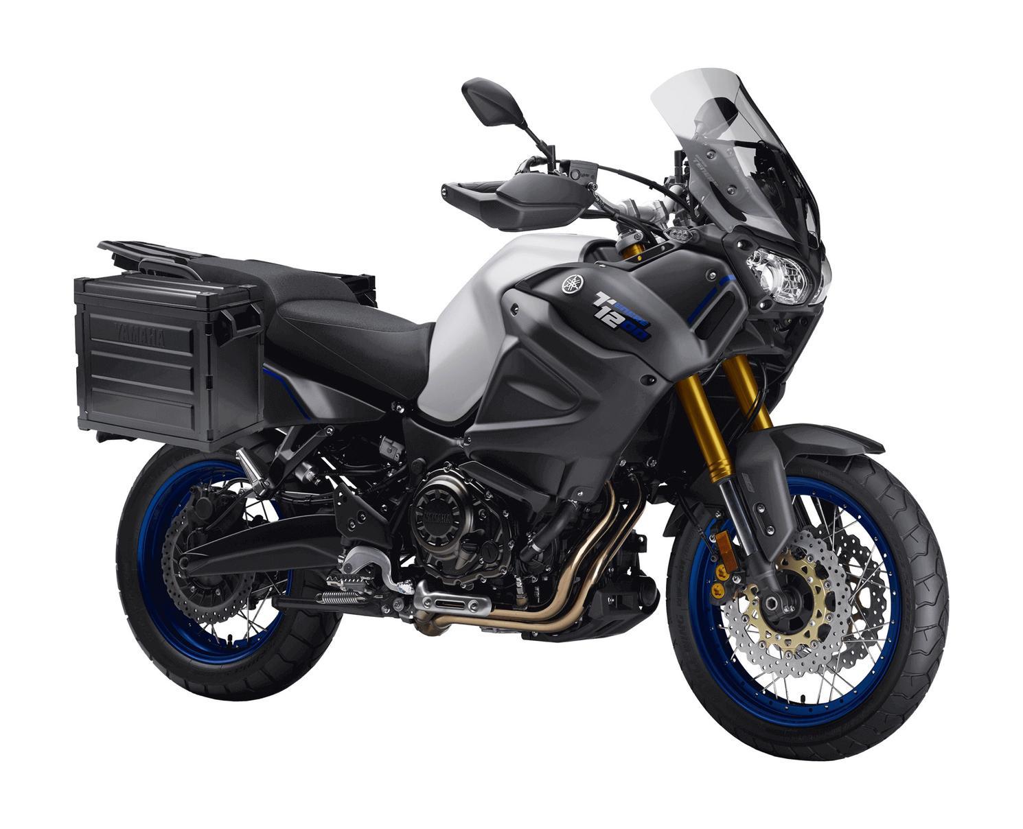 Yamaha Super Ténéré ES Gris Pâle Métallique Mat 2020